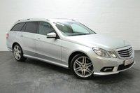 USED 2011 61 MERCEDES-BENZ E CLASS 2.1 E220 CDI BLUEEFFICIENCY SPORT ED125 5d AUTO 170 BHP FULL MERCEDES SERVICE HISTORY + SAT NAV + POWER BOOT + XENONS + BLUETOOTH