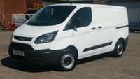2014 FORD TRANSIT CUSTOM 2.2 290 LR P/V 1d 124 BHP NO VAT TO ADD 1OWNER F/ S/H PRINT OUT FREE 12 MONTHS WARRANTY COVER  £7990.00