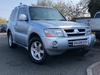 2006 MITSUBISHI SHOGUN 3.2 4WORK WARRIOR DI-D SWB 1d 159 BHP