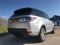 USED 2015 04 LAND ROVER RANGE ROVER SPORT 4.4 AUTOBIOGRAPHY DYNAMIC 5d AUTO 339 BHP