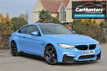 2015 BMW M4 3.0 M4 2d AUTO 426 BHP