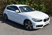 USED 2018 67 BMW 1 SERIES 1.5 116d Sport Sports Hatch 3dr Diesel Manual (s/s) (103 g/km, 116 bhp) SATNAV ONLY 6000 MILES VALUE