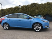 2016 FORD FOCUS 1.5 TDCI ZETEC NAVIGATOR  5d WITH SAT NAV AND PRIVACY GLASS £9500.00