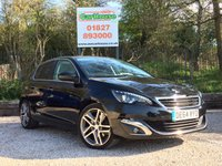 USED 2014 64 PEUGEOT 308 2.0 BLUE HDI FELINE 5dr £20 Tax, Sat Nav, Pan Roof