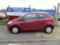 USED 2009 59 FORD KA 1.2 STUDIO 3d 69 BHP £30 Yearly Road Tax . 6 Stamps Of Service History. 2 Owner Car. New MOT & Full Service Done on purchase + 2 Years FREE Mot & Service Included After . 3 Months Russell Ham Quality Warranty . All Car's Are HPI Clear . Finance Arranged - Credit Card's Accepted . for more cars www.russellham.co.uk  Spare Key & Owners Book Pack.
