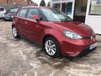 2013 MG 3 1.5 3 FORM SPORT VTI-TECH 5d 106 BHP £4995.00