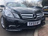 2009 MERCEDES-BENZ E CLASS 2.1 E250 CDI BLUEEFFICIENCY SPORT COUPE 2d AUTO 204 BHP £9490.00