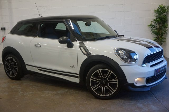 2014 14 MINI COOPER 2.0 COOPER SD ALL4 3d AUTO 143 BHP SAT NAV FULL LEATHERS SOLD TO JASON FROM WOLVERHAMPTON