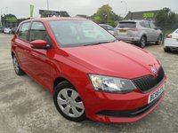USED 2017 66 SKODA FABIA 1.0 S MPI 5d 59 BHP Excellent Condition, FSH, Only One Owner, No Deposit Finance Available