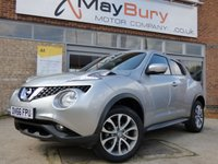 USED 2016 66 NISSAN JUKE 1.5 TEKNA DCI 5d 110 BHP TOP OF THE RANGE MODEL ONLY £20 A YEAR TO TAX