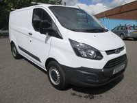 2016 FORD TRANSIT CUSTOM 270 L1 H1 SWB Low roof 100 PS *BLUETOOTH + S/HISTORY* £9495.00