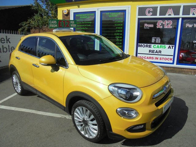 USED 2015 65 FIAT 500X 1.6 MULTIJET LOUNGE 5d 120 BHP **TEST DRIVE TODAY 01922 494874**