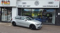 2011 BMW 1 SERIES 1.6 116I SPORT 5d 135 BHP £SOLD