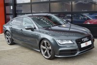 USED 2014 14 AUDI A7 3.0 TDI QUATTRO BLACK EDITION 5d AUTO 245 BHP 1 OWNER + LOW MILES + BLACK EDITION + SAT NAV + 21 INCH ALLOYS