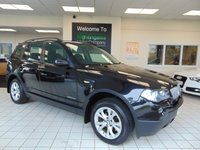 2009 BMW X3 2.0 XDRIVE20D SE EDITION PREMIUM 5d AUTO 175 BHP £5895.00