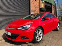 USED 2014 14 VAUXHALL ASTRA 1.6 GTC SRI S/S 3DR 197 BHP 19S FSH & 1 PREVIOUS OWNER