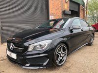 USED 2013 63 MERCEDES-BENZ CLA 2.0 CLA250 AMG SPORT 4MATIC 4DR AUTO 211 BHP SUNROOF >SAT NAV>LEATHER