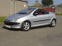 USED 2002 02 PEUGEOT 206 1.6 COUPE CABRIOLET S 2d 110 BHP /////  FANTASTIC CONDITION FOR AGE  /////