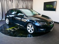USED 2014 14 SEAT LEON 1.8 TSI FR TECHNOLOGY 5d 180 BHP £0 DEPOSIT FINANCE AVAILABLE, AIR CONDITIONING, AUX INPUT, BLUETOOTH CONNECTIVITY, CLIMATE CONTROL, CRUISE CONTROL, DAB RADIO, HEATED SEATS, PARK PILOT SENSORS, SATELLITE NAVIGATION, START/STOP SYSTEM, STEERING WHEEL CONTROLS, TOUCH SCREEN HEAD UNIT, TRIP COMPUTER
