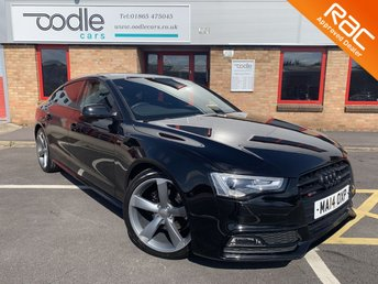 2014 AUDI A5 2.0 SPORTBACK TDI BLACK EDITION S/S 5d AUTO 175 BHP £16250.00