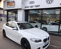 2014 BMW 5 SERIES 2.0 520D M SPORT 4d AUTO 188 BHP £12750.00
