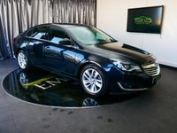 """USED 2015 64 VAUXHALL INSIGNIA 2.0 SRI NAV CDTI ECOFLEX S/S 5d 160 BHP £0 DEPOSIT FINANCE AVAILABLE, 8"""" COLOUR TOUCH SCREEN HEAD UNIT, AIR CONDITIONING, AUTOMATIC HEADLIGHTS, AUX INPUT, BLUETOOTH CONNECTIVITY, CLIMATE CONTROL, CRUISE CONTROL, DAB RADIO, DAYTIME RUNNING LIGHTS, ELECTRONIC PARKING BRAKE, START/STOP SYSTEM, SATELLITE NAVIGATION, STEERING WHEEL CONTROLS, TRIP COMPUTER"""