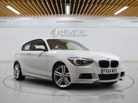 "USED 2014 64 BMW 1 SERIES 2.0 125D M SPORT 3d AUTO 215 BHP - LEZ COMPLIANT    SAT NAV   LEATHERS   18"" ALLOY"