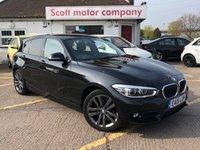 2015 BMW 1 SERIES 1.5 116D Sport 5 door Automatic Diesel £10699.00