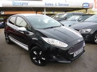 2016 FORD FIESTA 1.2 ZETEC BLACK EDITION AUTUMN 5d 81 BHP £9499.00