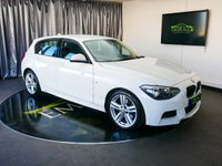 USED 2015 15 BMW 1 SERIES 2.0 125D M SPORT 5d 215 BHP £0 DEPOSIT FINANCE AVAILABLE, AIR CONDITIONING, AUTOMATIC HEADLIGHTS, AUX INPUT, BLUETOOTH CONNECTIVITY, BMW CONNECTED SERVICES, CLIMATE CONTROL, DAB RADIO, DRIVE PERFORMANCE CONTROL, SPEED LIMITER, START/STOP SYSTEM, STEERING WHEEL CONTROLS, TRIP COMPUTER