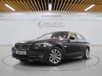 "USED 2011 61 BMW 5 SERIES 2.0 520D SE 4d AUTO 181 BHP SAT NAV | LEATHERS | 17"" ALLOY"