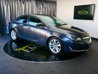 """USED 2014 14 VAUXHALL INSIGNIA 2.0 SRI NAV CDTI 5d AUTO 160 BHP £0 DEPOSIT FINANCE AVAILABLE, 8"""" COLOUR TOUCH SCREEN HEAD UNIT, AIR CONDITIONING, AUTOMATIC HEADLIGHTS, AUX INPUT, BLUETOOTH CONNECTIVITY, CLIMATE CONTROL, CRUISE CONTROL, DAB RADIO, DAYTIME RUNNING LIGHTS, ELECTRONIC PARKING BRAKE, SATELLITE NAVIGATION, START/STOP SYSTEM, STEERING WHEEL CONTROLS, TRIP COMPUTER"""