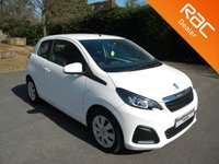 USED 2015 65 PEUGEOT 108 1.0 ACTIVE 3d 68 BHP Very Low Mileage! Free To Tax! Cheap Insurance! Bluetooth, DAB, Touchscreen Radio