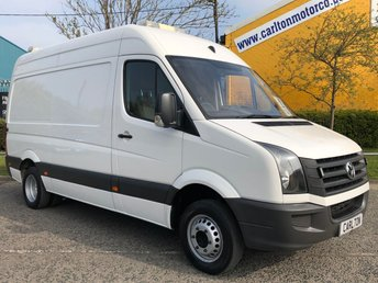 2013 VOLKSWAGEN CRAFTER 2.0 CR50 163 MWB [ MOBILE JETTING UNIT ] HIGH ROOF VAN DRW 5000Kgs  £15950.00