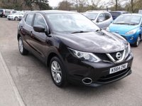USED 2015 NISSAN QASHQAI 1.2 ACENTA DIG-T SMART VISION 5d 113 BHP ***Stunning example - High specification***