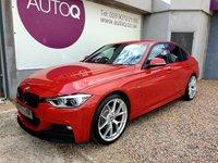 2016 BMW 3 SERIES 2.0 318D M SPORT 4d 148 BHP £13995.00