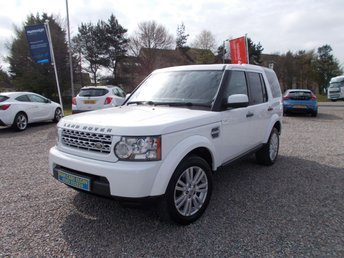 2013 LAND ROVER DISCOVERY 3.0 4 SDV6 GS 5d AUTO 255 BHP £19995.00