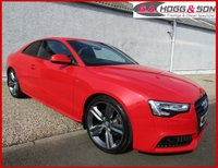 "USED 2013 63 AUDI A5 2.0 TDI COUPE BLACK EDITION 2dr 177 BHP *OUTSTANDING CONDITION* **GENUINE BLACK EDTION MODEL WITH 19""ALLOYS INCLUDED IN PRICE**"