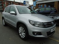 USED 2014 64 VOLKSWAGEN TIGUAN 2.0 MATCH TDI BLUEMOTION TECHNOLOGY 5d 139 BHP ONLY 18,000 MILES!