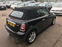 USED 2011 11 MINI CONVERTIBLE 1.6 COOPER 2d AUTO 122 BHP