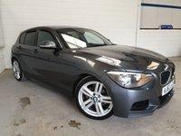 USED 2012 62 BMW 1 SERIES 2.0 116D M SPORT 5d AUTO 114 BHP