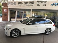 2014 BMW 3 SERIES 2.0 320D M SPORT TOURING 5d 181 BHP £10995.00