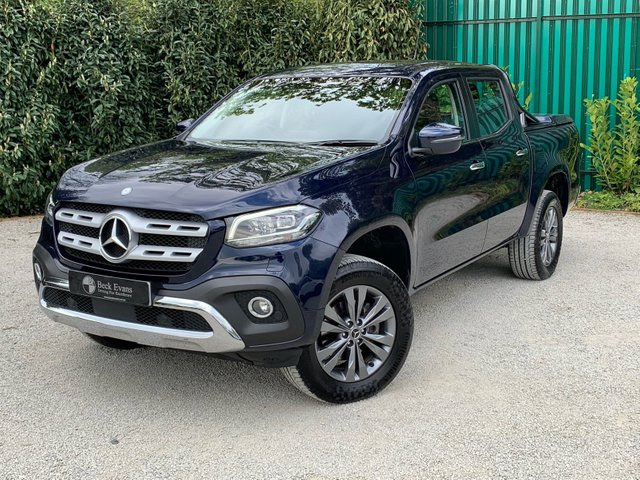 View our MERCEDES-BENZ X-CLASS