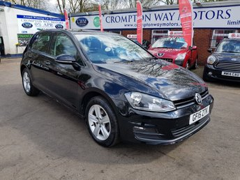 2015 VOLKSWAGEN GOLF 1.6 MATCH TDI BLUEMOTION TECHNOLOGY 5d 103 BHP £9300.00