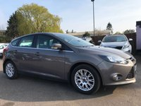 USED 2012 12 FORD FOCUS 1.6 TDCI TITANIUM 115 5d WITH CLIMATE CONTROL, BLUETOOTH NO DEPOSIT HP FINANCE ARRANGED , APPLY HERE NOW
