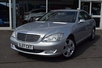 USED 2007 07 MERCEDES-BENZ S CLASS 3.0 S320 CDI 4d 231 BHP FINANCE TODAY WITH NO DEPOSIT
