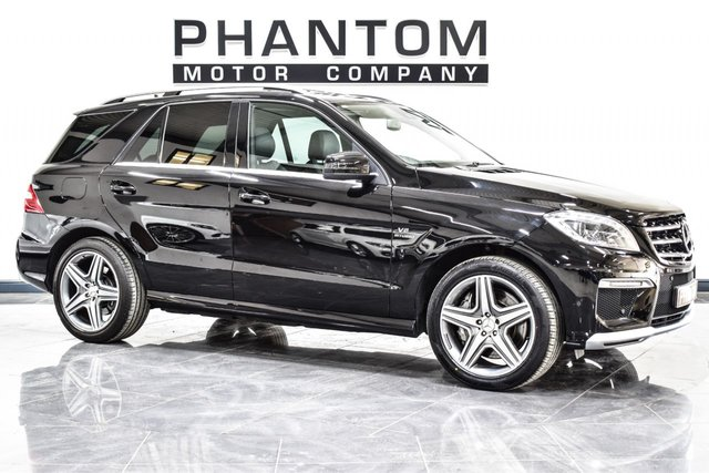 USED 2012 12 MERCEDES-BENZ M CLASS 5.5 ML63 AMG 5d AUTO 525 BHP