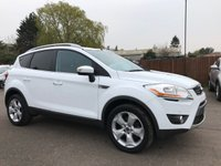 2009 FORD KUGA 2.0 TDCI TITANIUM 2WD 5d WITH CLIMATE CONTROL, BLUETOOTH £6250.00