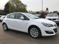 USED 2013 63 VAUXHALL ASTRA 1.6 ENERGY 5d WITH 1 PRIVATE OWNER FROM NEW AND SERVICE HISTORY NO DEPOSIT ECP/HP FINANCE ARRANGED, APPLY HERE NOW