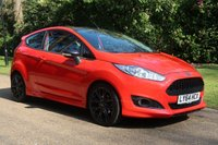 2014 FORD FIESTA 1.0 ZETEC S RED EDITION 3d 139 BHP £8000.00